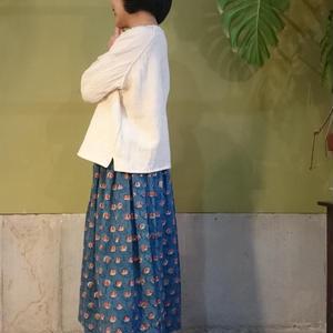 ウエストゴム、とっても簡単ギャザースカート作り方