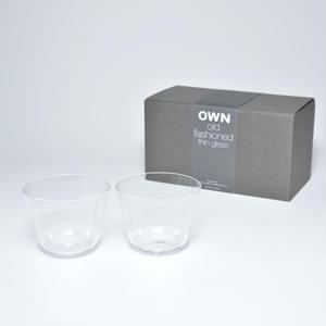 OWN glass old fashioned gift set
