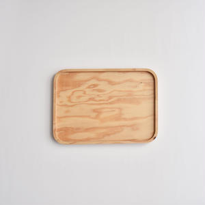 STUDIO Khii  / PLYWOOD TRAY Small ( SQUARE / ROUND )
