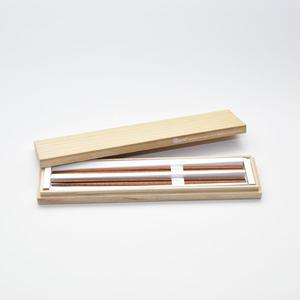 三角箸 マラス  桐箱gift box