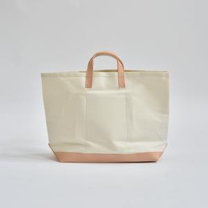 "StitchandSew / tote bag white ""natural"" ( LARGE )"