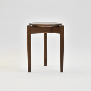 Round Stool / Nara  graf brown