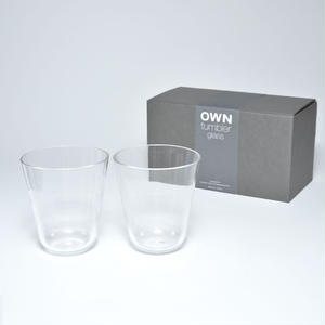 OWN glass tumbler gift set