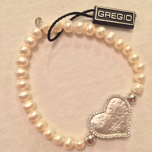 Gregio ブレスレット Cupid Silver