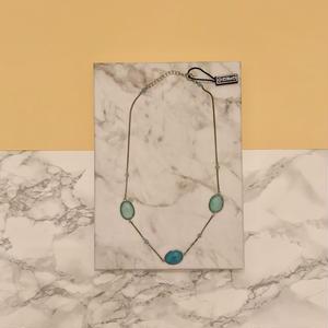 Gregio ネックレス Iris three-stones Blue