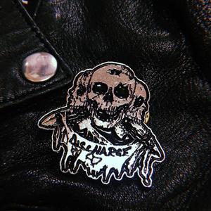 Discharge Metal Badge -B