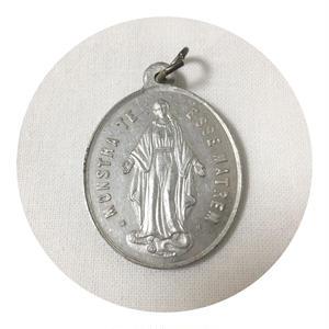 Vintage Virgin Mary Medal