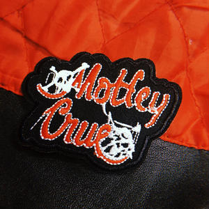 Motley Crue Embroidered Patch