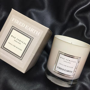 Wax Lyrical Fired Earth Candle Chai&Lime Blossom