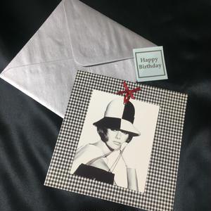 """Vogue Greeting Card """"Black&White1965"""""""