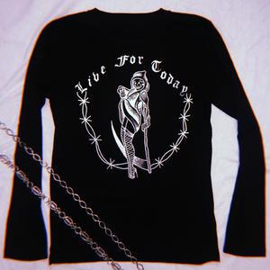 Original Long Sleeve T in Black
