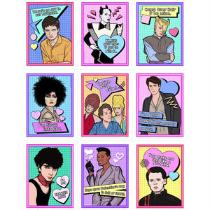 Matthew Lineham/New Wave Valentine's Day Card Pack (2017)