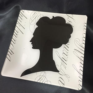 Fringe Studio Glass Tray Lady