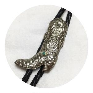Western Boot Bolo  Tie