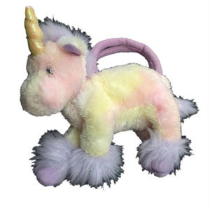 Vintage Pastel Color Unicorn Bag
