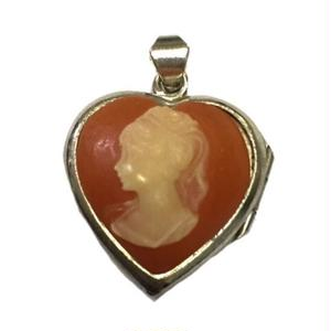 Vintage Cameo Pendant Top