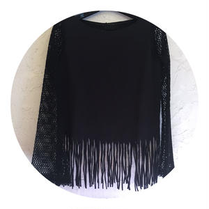 Fringe and Mesh Tops