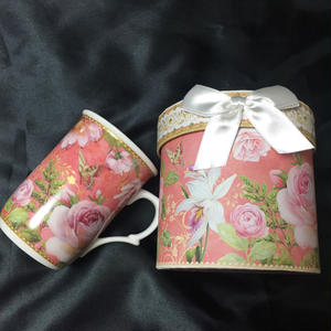 Rose Mug With Box