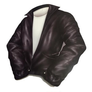 Rockabilly Icon Walldeco Leather Jacket