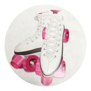 Rockabilly Icon Walldeco  Roller Skates