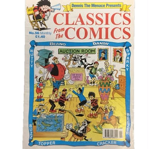 Dennis The Menace  Presents CLASSICS From The COMICS