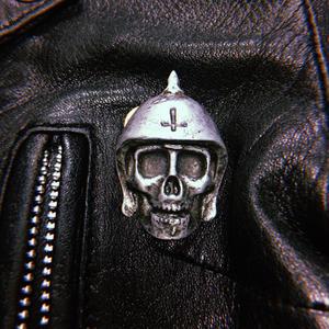 Broken Bones Metal Badge-B