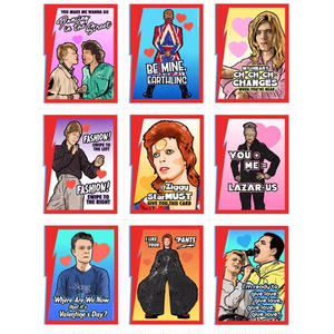 Matthew Lineham/Bowie Valentine's Day Card Pack (2018)