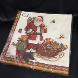 PaperTowel Santa&Teddy