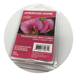 Yankee Candle Fregranced Wax Cubes Simply Sweet Pea