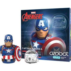 【国内正規品 - 保証付き -】 Ozobot Evo マスターパック(キャプテン・アメリカ)