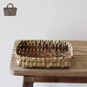 小物入れの胡桃置き籠(かご/カゴ) オズのかごバッグ