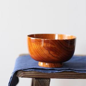 たけぞうの拭き漆 『欅 汁椀』 漆器 浄法寺漆 (岩手県産)