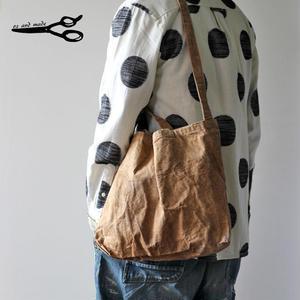 柿渋+銅媒染 2WAY ショルダートートバッグ