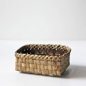 中型/胡桃の整理かご 籠 (クルミ/沢くるみ)  小物入れ 暮らしの籠