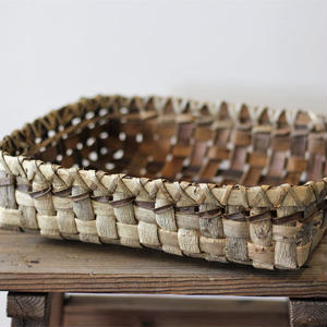 胡桃の置き籠(大) (クルミ/くるみ)  小物入れ オズのかごバッグ