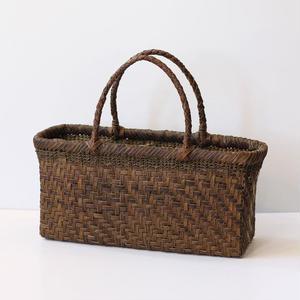 5mmヒゴ 胡桃のかごバッグ  (クルミ/沢くるみ/籠)  オズのかごバッグ
