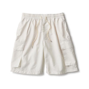 Pleated Relax Cargo Shorts