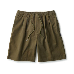 PLEATED CHINO RELAX SHORTS