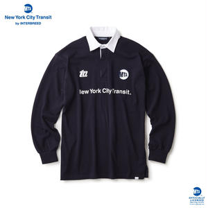 MTA SUBWAY HISTORY RUGBY SHIRT