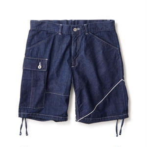 SELVEDGE SUPPLY ONE SIDE SELVEDGE CARGO SHORTS
