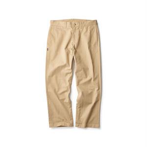 BASIC CHINO TROUSERS 18AW