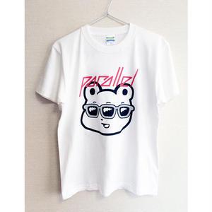 平行 サングラスくまめTシャツ