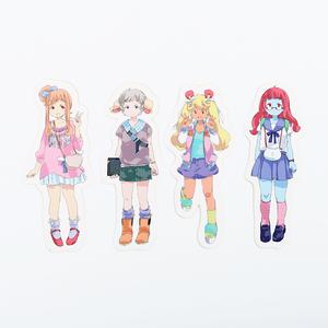 【CO;RYU】キャラクターステッカーセット