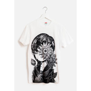 【OMOCAT】FLOWERGIRL T-Shirt
