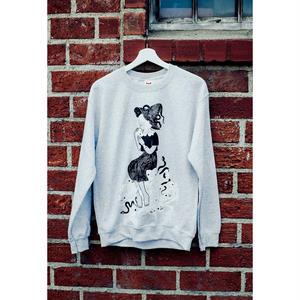 【OMOCAT×HEIKALA】HONE-ONNA Sweater