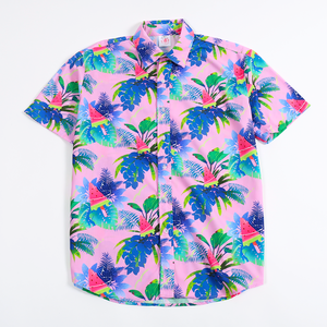 【宇宙サマー】WATERMELON POP HAWAIIAN SHIRT