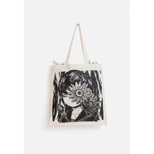 【OMOCAT】FLOWERGIRL Tote Bag