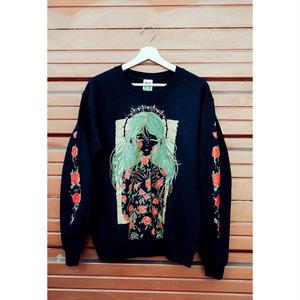 【OMOCAT】ROSES Sweater