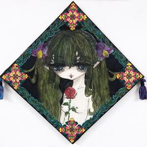 【Riho Kurokawa】原画「心は美しいか」