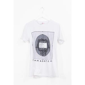 【OMOCAT】TAMAGOTCHI GRID T-Shirt